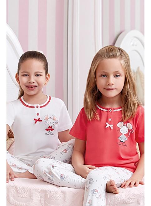 Pierre Cardin Pijama Takım Ekru